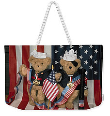 Teddy Bears In America Weekender Tote Bag