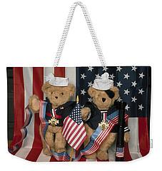 Teddy Bears In America Weekender Tote Bag