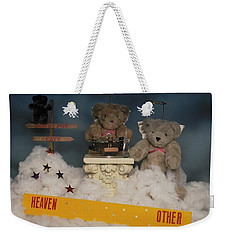 Teddy Bears In Heaven Weekender Tote Bag