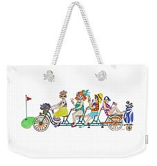 Tee Or Tea Weekender Tote Bag