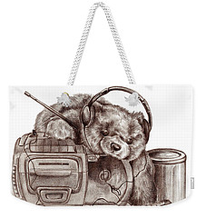 Teenage Bear Weekender Tote Bag