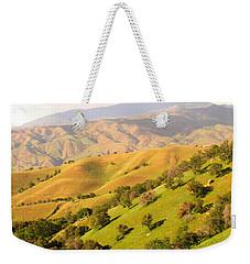 Tehachapi Topography Weekender Tote Bag