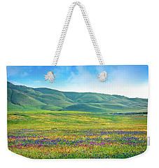 Tejon Ranch Wildflowers Weekender Tote Bag