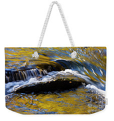 Weekender Tote Bag featuring the photograph Tellico River - D010004 by Daniel Dempster