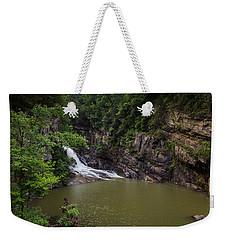 Tallulah Gorge Falls Weekender Tote Bag by Sean Allen