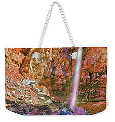 Weekender Tote Bag featuring the photograph Telluride, Colorado's Cornet Falls - Colorful Colorado - Waterfall by Jason Politte