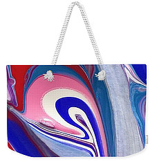 Tempera Paint Series 3 Weekender Tote Bag
