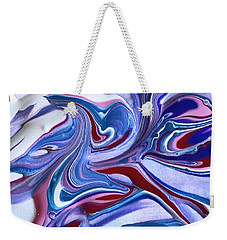 Tempera Paint Series 5 Weekender Tote Bag