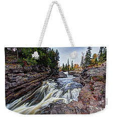 Temperance River State Park Weekender Tote Bag