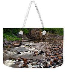 Temperance River Weekender Tote Bag by Steve Stuller