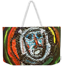Tempest Of The Damned Weekender Tote Bag by Darrell Black