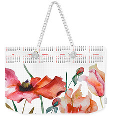 Template For Calendar 2013 Weekender Tote Bag