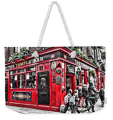 Temple Bar Pub Weekender Tote Bag
