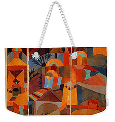 Temple Gardens Weekender Tote Bag