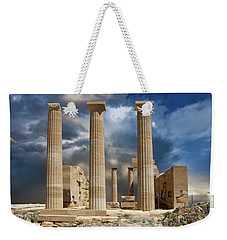 Temple Of Athena Weekender Tote Bag