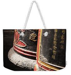 Temple Of Thien Hau Bells Weekender Tote Bag