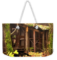 Temporary Shelter Weekender Tote Bag by Albert Seger