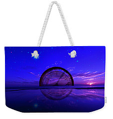 Tempus #6 Weekender Tote Bag by Kevin Blackburn