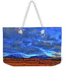 Weekender Tote Bag featuring the photograph Ten Mile Of Fall Colors by Scott Mahon