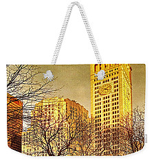 Ten Past Four At Madison Square Park Weekender Tote Bag
