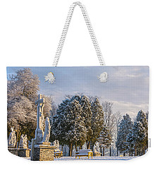 Ten Stations Of The Cross Christmas Morning Weekender Tote Bag
