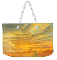 Ten Thousand Islands Weekender Tote Bag by David  Van Hulst