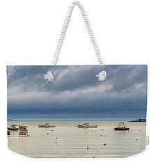 Weekender Tote Bag featuring the photograph Tenants Harbor by Rick Berk