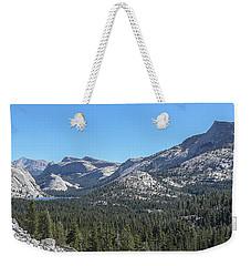 Tenaya Lake And Surrounding Mountains Yosemite National Park Weekender Tote Bag