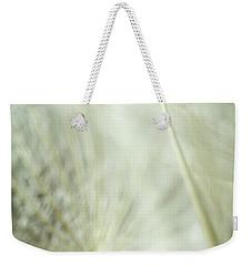 Tender Dandelion Weekender Tote Bag by Iris Greenwell