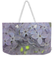 Weekender Tote Bag featuring the photograph Tender Feel by The Art Of Marilyn Ridoutt-Greene