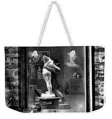 Tender Moment Bw Weekender Tote Bag