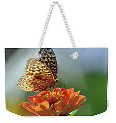 Weekender Tote Bag featuring the photograph Tenderness by Glenn Gordon