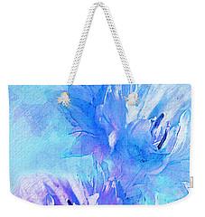 Weekender Tote Bag featuring the digital art Tenderness by Klara Acel