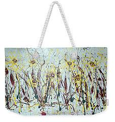 Tending My Garden Weekender Tote Bag by J R Seymour
