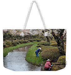 Tending The Japanese Garden No. 2 Weekender Tote Bag