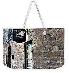 Mendon Town Hall Weekender Tote Bag