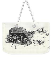 Darkling Beetle Weekender Tote Bag