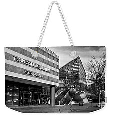 Tennessee Aquarium's River Journey In Black And White Weekender Tote Bag