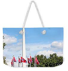 Tennessee Bicentennial Mall Weekender Tote Bag by Kristin Elmquist