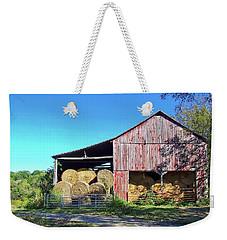 Tennessee Hay Barn Weekender Tote Bag