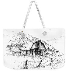Tennessee Hills With Barn Weekender Tote Bag