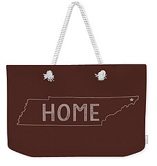 Weekender Tote Bag featuring the digital art Tennessee Home by Heather Applegate