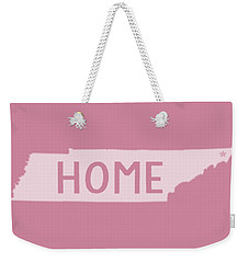 Weekender Tote Bag featuring the photograph Tennessee Home White by Heather Applegate
