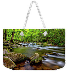 Weekender Tote Bag featuring the photograph Tennessee Stream by Christopher Holmes