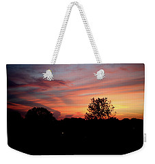 Weekender Tote Bag featuring the photograph Tennessee Sunset 305 by Ericamaxine Price
