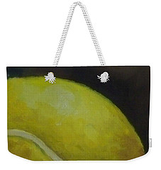 Tennis Ball No. 2 Weekender Tote Bag by Kristine Kainer