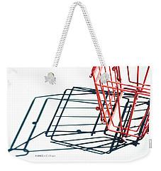 Tennis Court Pickup Basket Weekender Tote Bag