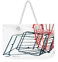 Tennis Court Pickup Basket Weekender Tote Bag
