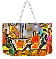Tension Weekender Tote Bag