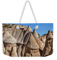 Tent Rocks - New Mexico Weekender Tote Bag by Stuart Litoff